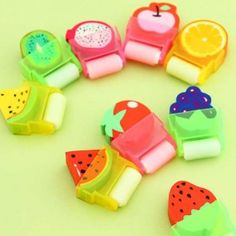 Cute Stationary School Supplies, Cool Stationary, Japanese School Supplies, Cool School Supplies, Kids Stationery, Kawaii Stationery, Eraser Collection, Cool Erasers, Cute Pens