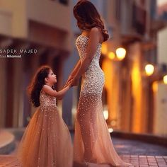 Current obsession!! #mommyandme #love #marriage #family #couture #customgown #fashion #kids #dress #designer  #instaglam #seconddress #weddinginspiration Rp @saidmhamadphotography #Padgram