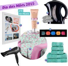 dia das mães 2015, dicas de presentes, baratinhos, até 50 reais, até 150 reais
