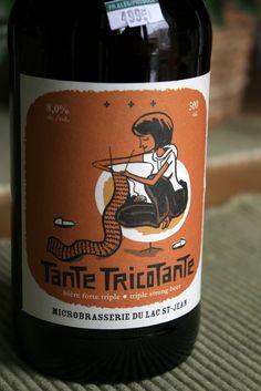 Lac St-Jean Tante Tricotante / Triple