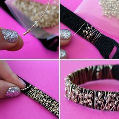 You know we're all about DIYing it up in the accessory department. This month we've jumped headfirst into all sorts of handmade bracelets, and now we're enlisting a little cleverness from the folks at Velcro Industries for our latest hack. All you need is VELCRO® Brand ONE-WRAP® Straps, studs, beads, and wire, to make your own set of 5 stacking bracelets. Let's get to it!
