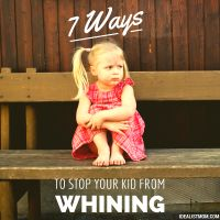 How to Stop Whining From Your Kids: 7 Surefire Tricks