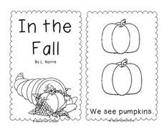 In the Fall Printable Sight Word Book Kindergarten Kindergarten Freebies, Kindergarten Language Arts, Teaching Kindergarten, Teaching Reading, Learning, Teaching Resources, Sight Word Activities, Classroom Activities, Classroom Ideas