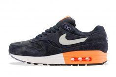 Nike Air Max 1 Premium Dark Obsidian And Atomic Orange Metallic Heren Schoen,Quality Sneakers