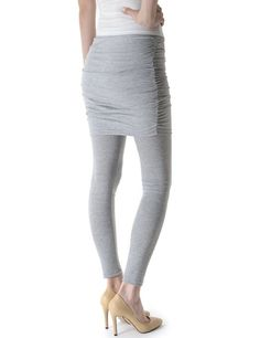 38011592440d5a TheLees Womens Slim Fit Footless Skirt Attached Leggings at Amazon Women's  Clothing store: