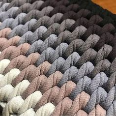 """The location where building and construction meets style, beaded crochet is the act of using beads to decorate crocheted products. """"Crochet"""" is derived fro Diy Crafts Crochet, Crochet Home, Bead Crochet, Crochet Motif, Crochet Stitches, Crochet Projects, Crochet Rug Patterns, Crochet Carpet, Easy Crochet Blanket"""