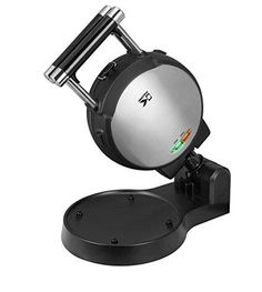 Stainless Steel Belgian Waffle Maker with Detachable Plates NonStick Surface Dimensions 75x15x485 Black ** For more information, visit image link.