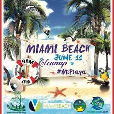 Ya estamos listos para el domingo 11 de junio en Miami Beach. Vamos a limpiar la playa y a disfrutar de buena compañía. El punto de encuentro será en North Shore Open Space Park. North Shore Open Space Park en Miami Beach es un parque encantador un poco alejado de las más populares playas de South Beach pero sin duda no menos hermoso. Fiel a su nombre esta es una playa sin el horizonte de hormigón y rascacielos que la mayoría de las otras playas tienen. Hay mesas de picnic árboles un parque…