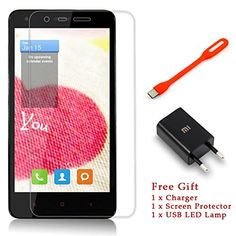XIAOMI HONGMI REDMI 2 Qualcomm Snapdragon 410 1.2GHz 64-bit Quad Core 4.7 Inch HD Screen 4G LTE MIUI 6 Smartphone(Blanco)