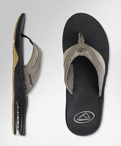 Reef LEATHER FANNING Sandals - Most importantly, they have a beer bottle opener on the bottom of each sandal for emergency purposes!!!