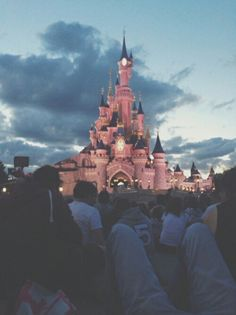 |Disney Bound °o°|  castle, tumblr, disneyworld, disneyland, pink, travel, inspiration, pale, sky, disney, earth, alternative, photography, grunge, vintage, boho, adventure, childhood, retro, hipster, nature, indie, world
