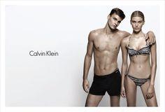 Madison Headrick and Thorben Gartner for Calvin Klein Swimwear S/S 2013 - Campaign