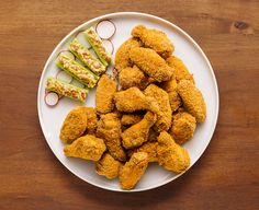 Need a game day platter that is easy to make, but also tastes delicious? Try this recipe that uses simple pantry ingredients to create a yummy, fried taste…in the oven!