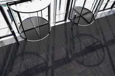 Quadrus, a new OBEX modular entry system, creates a stunning first impression in a space that must also deal with an active world and create a barrier against the elements. #flooring #entryway #design