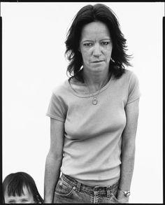 Richard Avedon, Debbie McIntyre and her daughter, Marie, practical nurse, Cortez, Colorado, June 11, 1983
