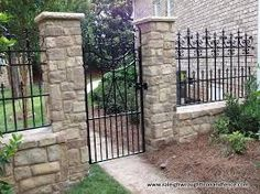 Image result for wrought iron fencing
