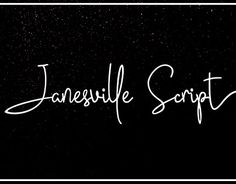 "Check out new work on my @Behance portfolio: ""Janesville Script Font"" http://be.net/gallery/51644179/Janesville-Script-Font"