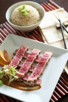 Recipes | Tuna Steaks, Garlic Sauce and Recipe Finder