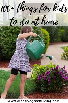 If your kids are stuck at home and bored due to quarantine or lockdown, here are 100+ ideas for ways to keep kids busy and safe! Includes lots of indoor activities, outdoor activities, things to do on a rainy day and things to do to keep them busy when their online school is done. Your kids will have lots of screen free ideas for things to do at home! #creativegreenliving #quarantineideas #boredombusters Indoor Activities, Learning Activities, Activities For Kids, Crafts For Kids, Organizing Stuffed Animals, Making Musical Instruments, Things To Do At Home, Simple Crafts, Stem Projects