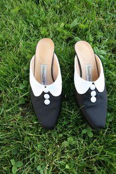 Chantal Thomass shoes for 20 euros on French ebay. http://www.ebay.fr/itm/CHANTAL-THOMASS-mules-de-princesse-sabots-satin-chaussure-noir-blanc-36-5-37-/271546050317?pt=FR_Chaussures_pour_femmes&hash=item3f3967e70d