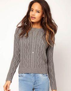 Suéter de punto de aran de ASOS  45,49 €