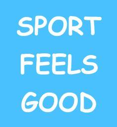 Egal ob Muskelschmerzen, Schweissattacken oder brennende Lungen, nach dem Sport fühlst du dich einfach gut. Worauf wartest du also noch - treibe Sport und tu dir etwas Gutes!