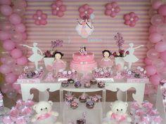 Risultati immagini per bailarina decoraçao Minnie Mouse Birthday Theme, Ballerina Birthday Parties, 10th Birthday Parties, Minnie Mouse Party, Baby Birthday, Ballerina Party Decorations, Birthday Party Decorations, Baby Ballerina, Shower Bebe
