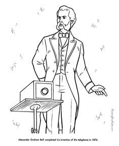 Alexander Graham Bell - American History for kids 069