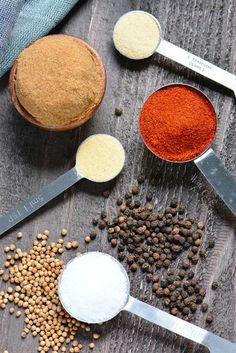 The Ultimate Dry Rub - The Ultimate Dry Rub recipe. This is a great Dry Rub for ribs, for chicken, brisket, chicken wings, - Beef Brisket Recipes, Smoked Beef Brisket, Smoked Pork, Grilling Recipes, Cooking Recipes, Smoker Recipes, Rib Recipes, Yummy Recipes, Recipies