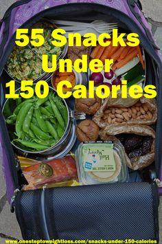 55 Snacks Under 150 Calories