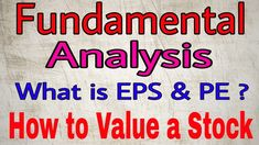 Fundamental Analysis is the proven and best way to invest in the stock market Fundamental Analysis, Technical Analysis, Share Market Analysis, Investors Business Daily, Mastery Learning, Stock Market For Beginners, Best Way To Invest, Stock Analysis, Financial Instrument