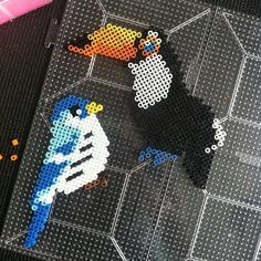 Birds perler beads by sejnow