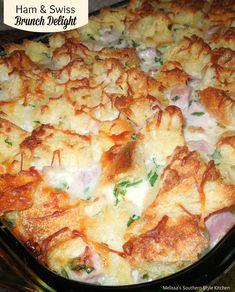 Ham And Swiss Brunch Delight