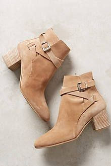 Miss Albright Amarie Tassel Booties - anthropologie.com