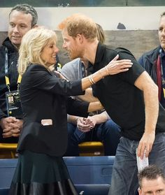 Jill Biden is teaming up with Prince Harry on Monday to celebrate the Warrior Games, the first event for the two of them since she entered the White House. Wife Jokes, Inauguration Ceremony, Jill Biden, Invictus Games, Warriors Game, Military Mom, Wounded Warrior, First Event, My Wife Is