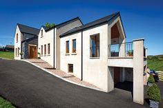 Good design for long narrow site