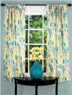 DIY curtain panels! Our video tutorial walks you through it step-by-step.