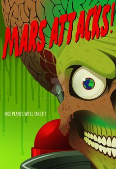 Mars Attacks by Chrisables