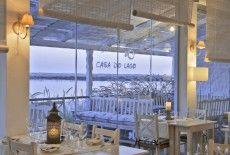 Casa do Lago Restaurant on Quinta do Lago - great views whichever way you look.