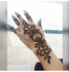 Arabic henna designs for more designs follow henna designs Floral Henna Designs, Indian Henna Designs, Henna Art Designs, Stylish Mehndi Designs, Mehndi Design Pictures, Beautiful Henna Designs, Latest Mehndi Designs, Mehndi Designs For Hands, Mehndi Style