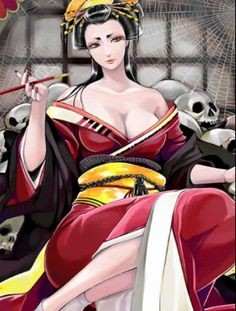 """Jorōgumo is a type of Yōkai, a creature, ghost or goblin of Japanese folklore. According to some stories, a Jorōgumo is a spider that can change its appearance into that of a seductive woman. In Japanese Kanji, Jorōgumo is written as """"絡新婦"""" (literally meaning """"binding bride"""") or """"女郎蜘蛛"""" (literally meaning """"whore spider"""")."""
