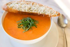 Nordstrom Tomato Basil Soup Recipe. Photo by Jeff Powell.