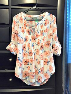 https://www.stitchfix.com/referral/3590654 June 2015 Stitch Fix Review: Daniel Rainn Bilson Pleated Blouse Fix Clothing, Spring Blouses, Spring Shirts, Spring Tops, Summer Tops, Fat Fashion, Fashion Outfits, Fashion Ideas, Spring Fashion