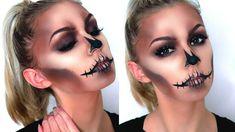 EASY GLAM SKULL | Halloween Makeup Tutorial