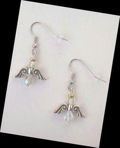 Guardian Angel Earrings