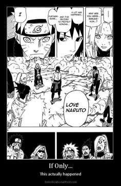 IS IT BAD THAT I'D PREFERRED HIM ACTUALLY SAYING THIS RATHER THAN..  (」´・Д・)」sas-gay,..y u no just admit ur love for naruto?!