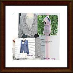 Oppskrift - valget er ditt - jakke, vest eller midt i mellom.