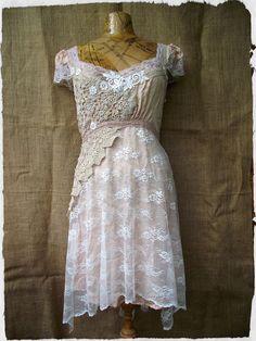 Rose quartz dress (Large)