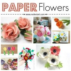 Easy Paper Crafts for Kids and Adults - Red Ted Art's Blog Newspaper Flowers, How To Make Paper Flowers, Newspaper Crafts, Paper Crafts For Kids, Paper Flowers Diy, Flower Crafts, Arts And Crafts, Diy Crafts, Diy Paper
