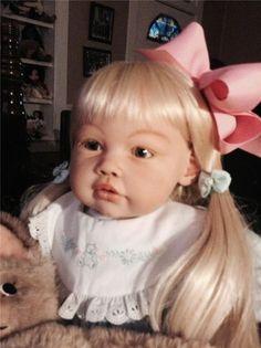 Ella Mae By Jannie De Lange Reborn Toddler Doll